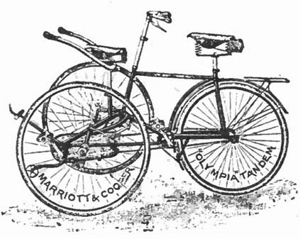 Olympia Tandem Tricycle copy