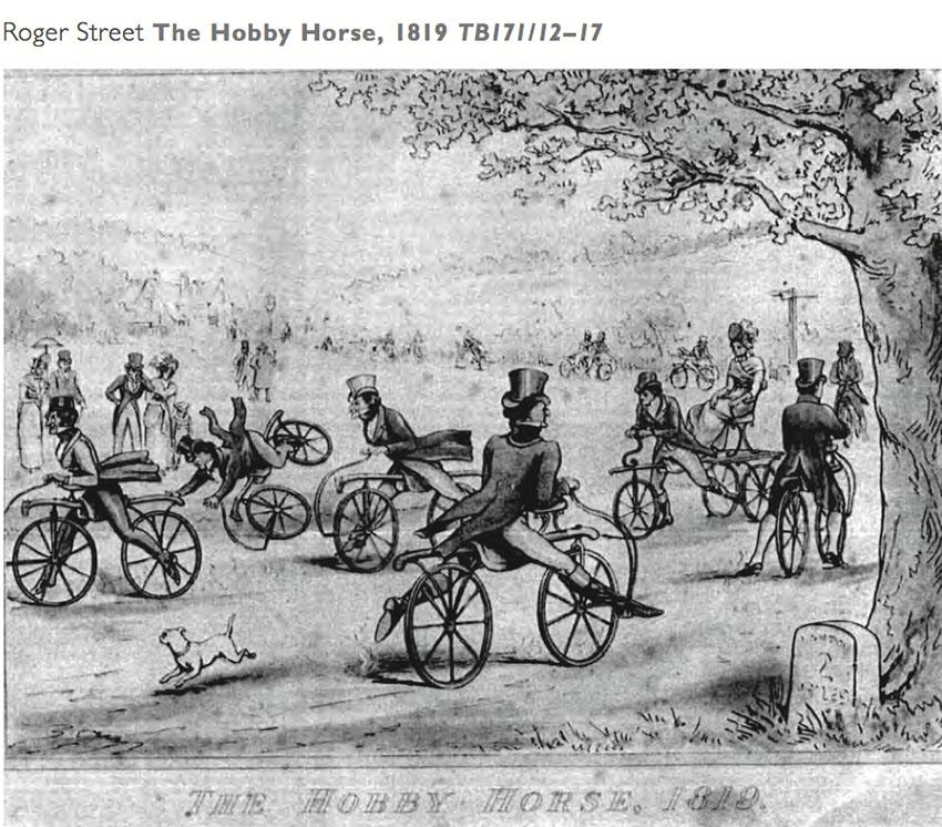 hobby horse boneshaker 172