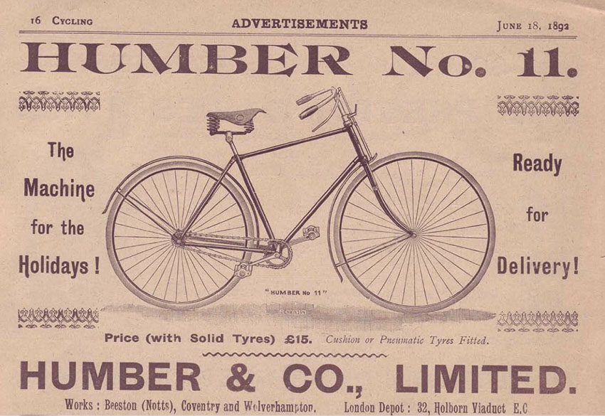 1892 humber