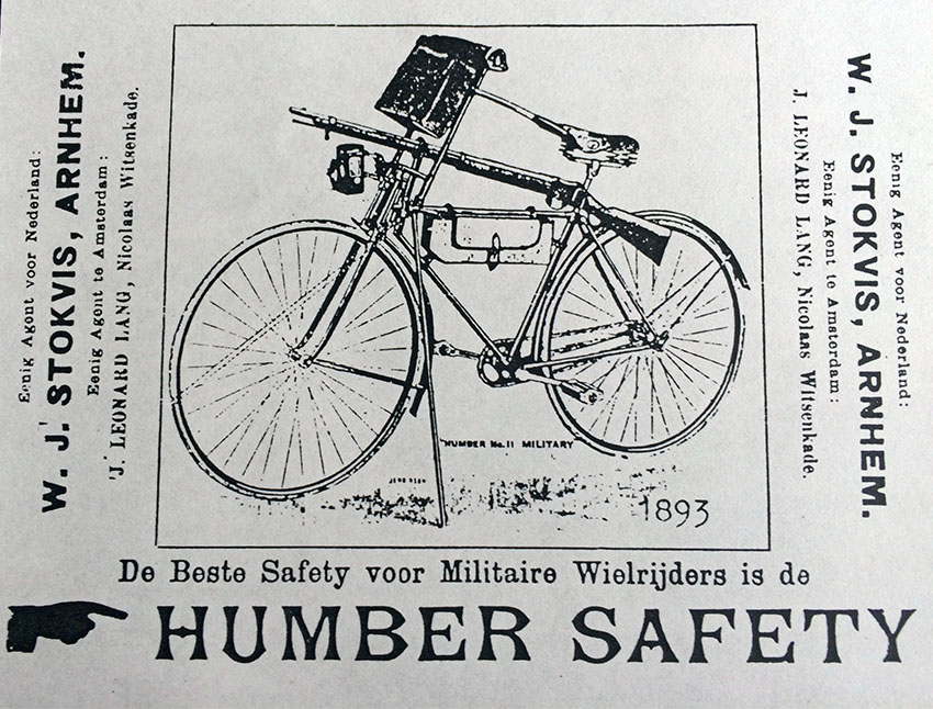 1893 humber military bicycle