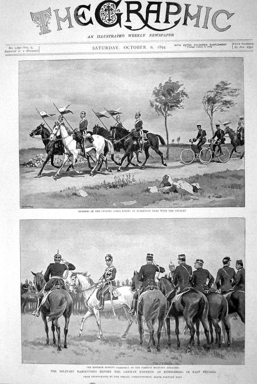 1894 german cycle corps