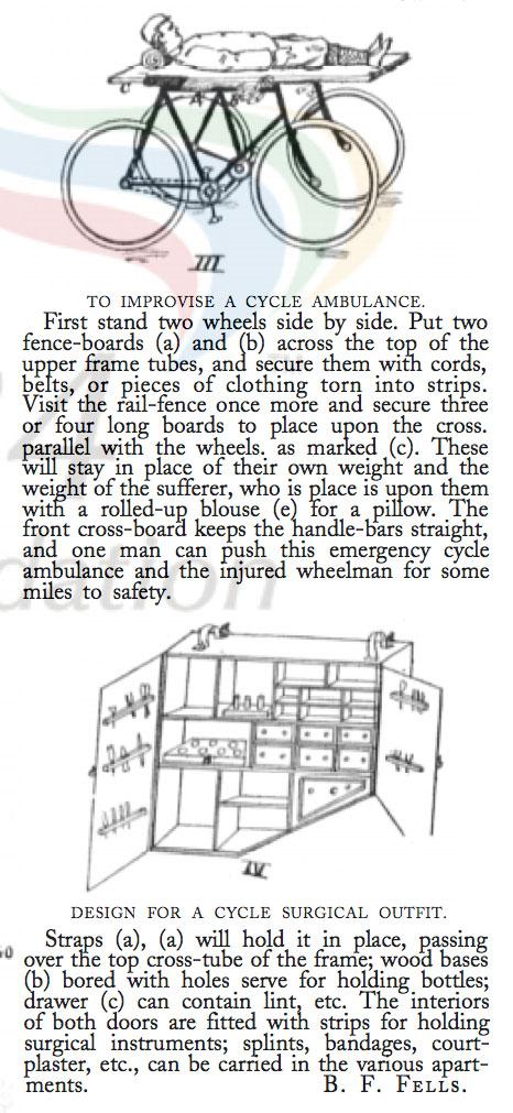 1898 cycle ambulance