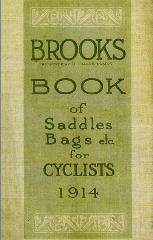 1914 Brooks Champion Flyer 19C Racing Saddle 3