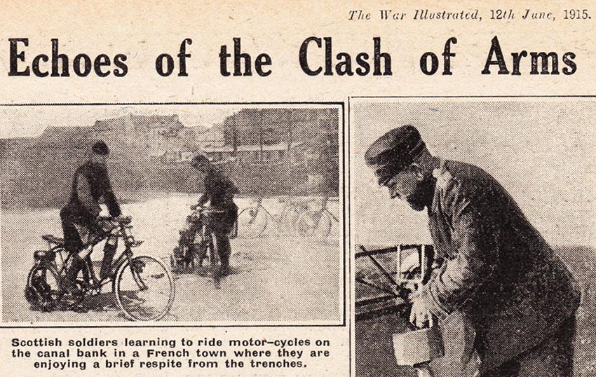 1915 BSA Auotwheel