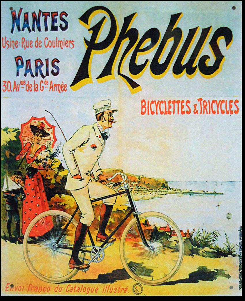 Cycles Phebus Nantes Paris