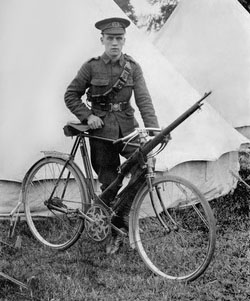 Humber bicycle WW1