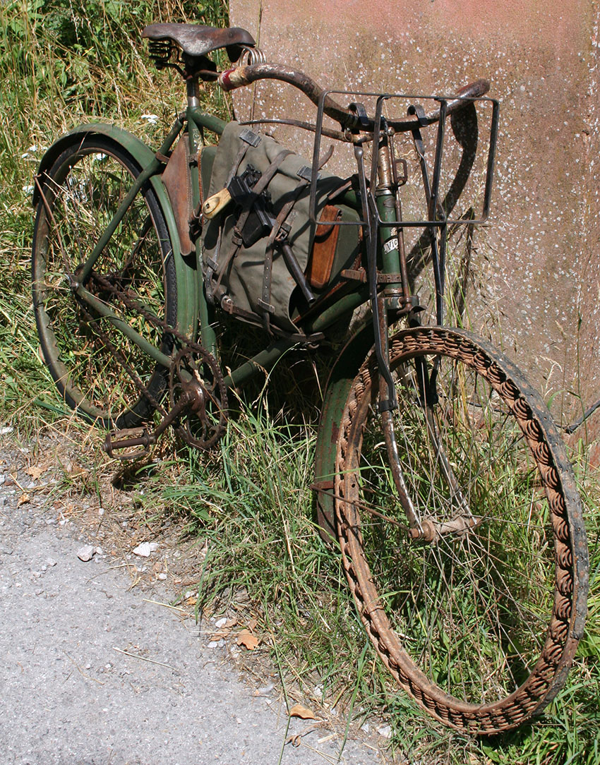 WW1 Germasn Bicycle Victoria Springwheel 07