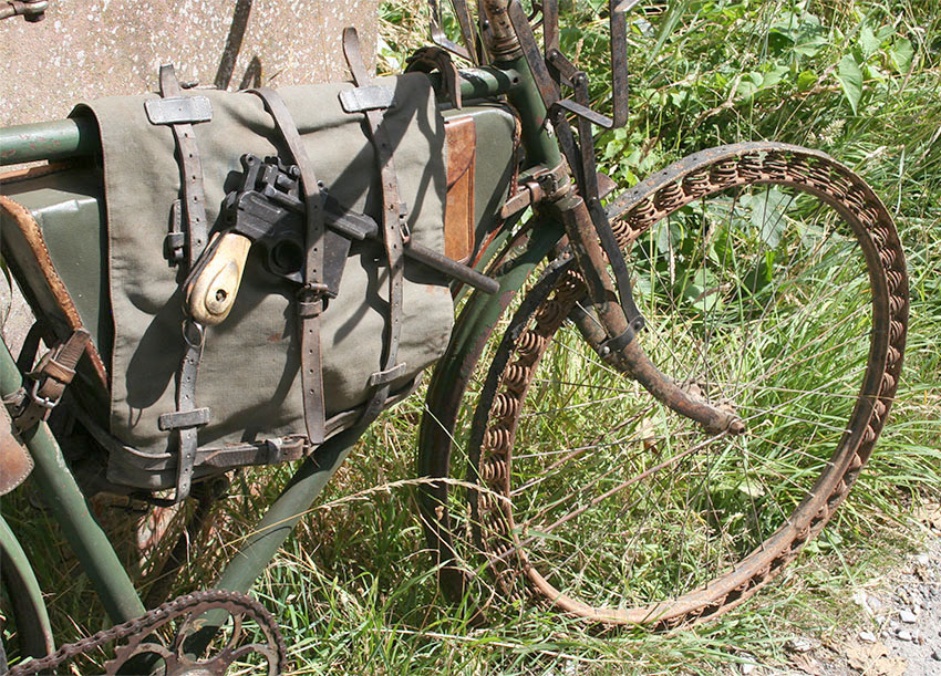 WW1 Germasn Bicycle Victoria Springwheel 09