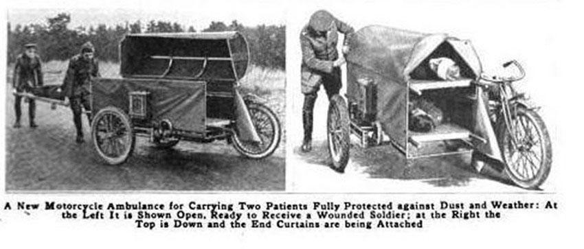 WW1 Indian Powerplus ambulance