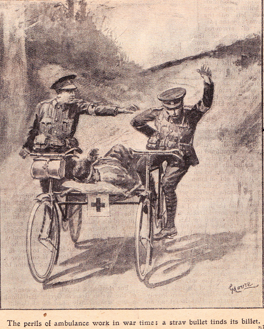 ambulance bicycles
