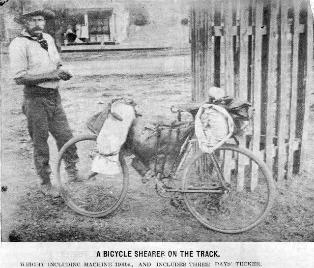 bicycle sheaer on the track 1911 horderns universal