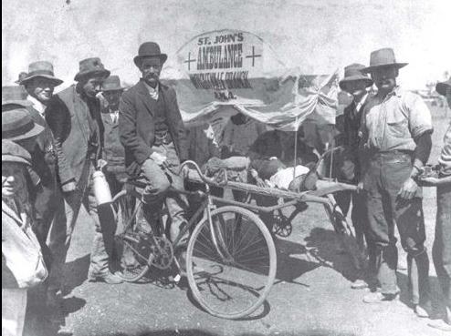 st johns bicycle ambulance