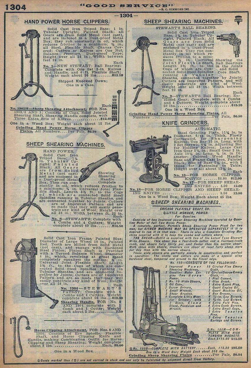 stewarts ball bearing clipper copy