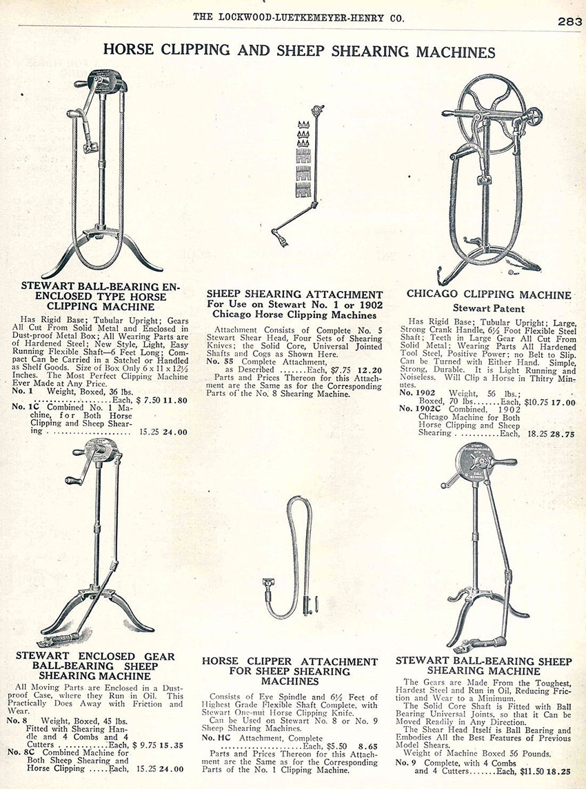 stewarts ball bearing clipper