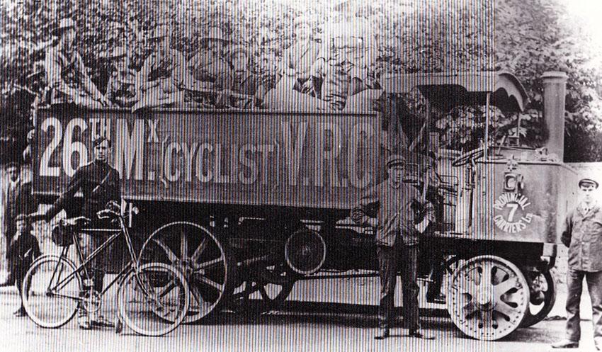 RESILIENT Centaur 26TH MIDX CYCLISTS WW1