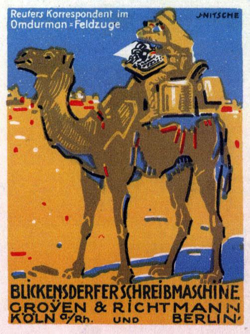 blickensderfer camel