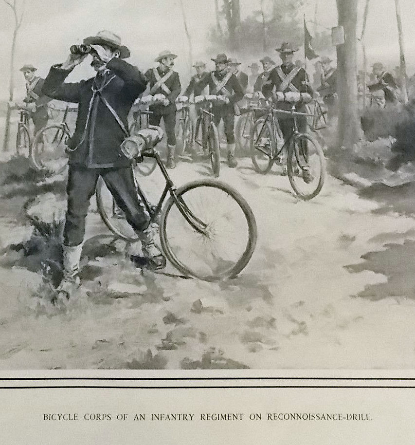 spanish american war 1898 bicycles