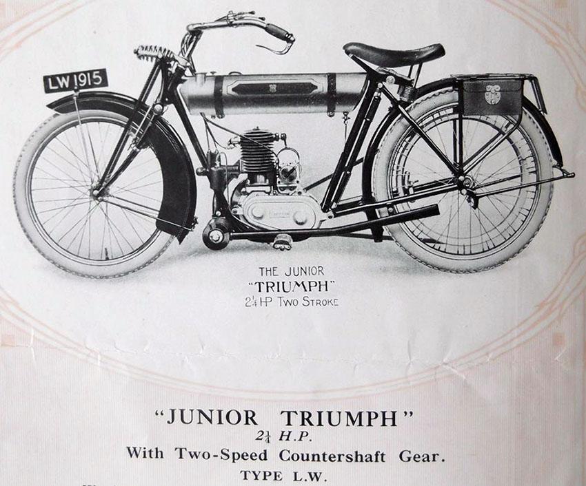 triumph junior 3