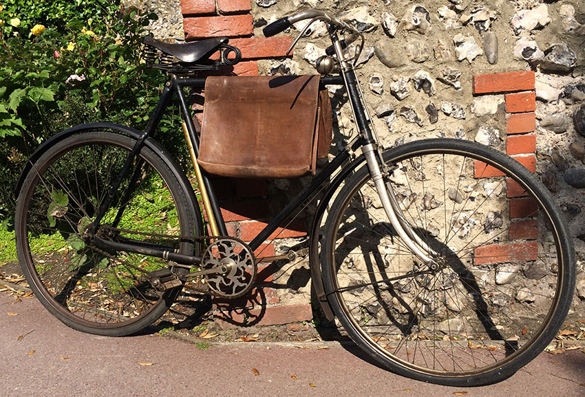 1911 Humber WW1 despatch bike 03