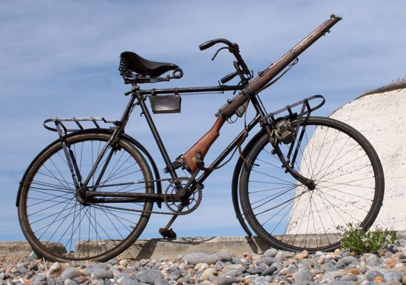 1916 New Hudson Military Bicycle WW1 05