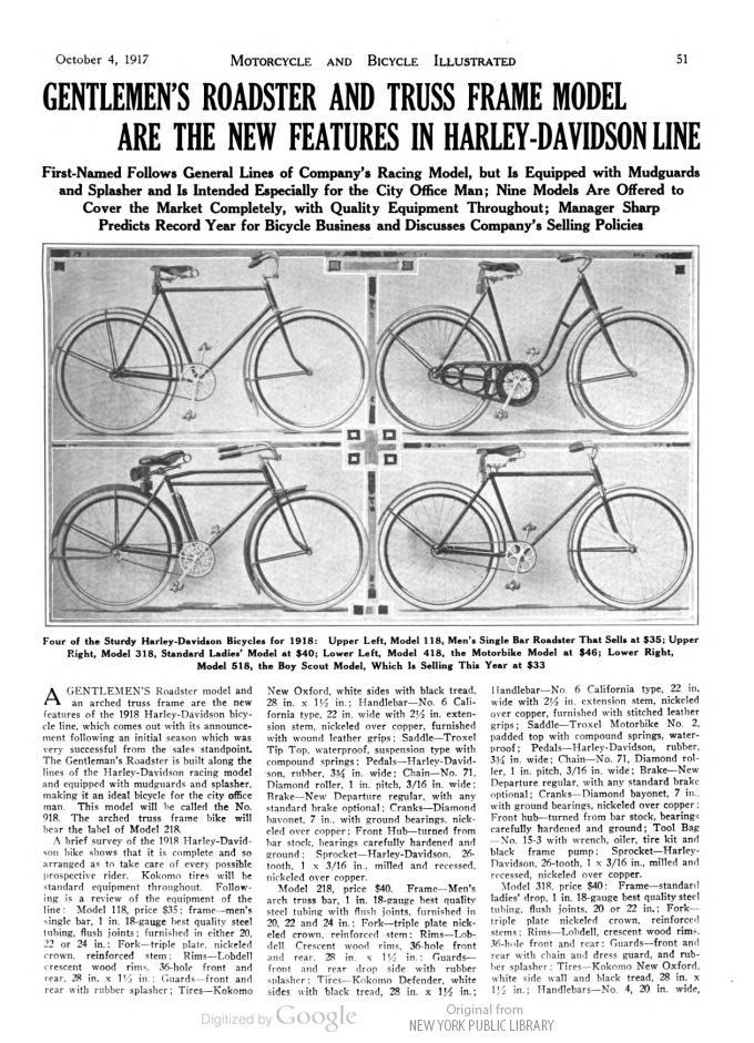 1918 HD BOY SCOUT