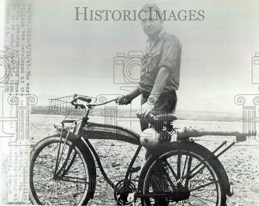1947 dayton rocket bicycle