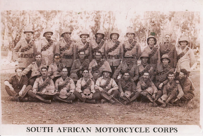 south africa motorcycle corps