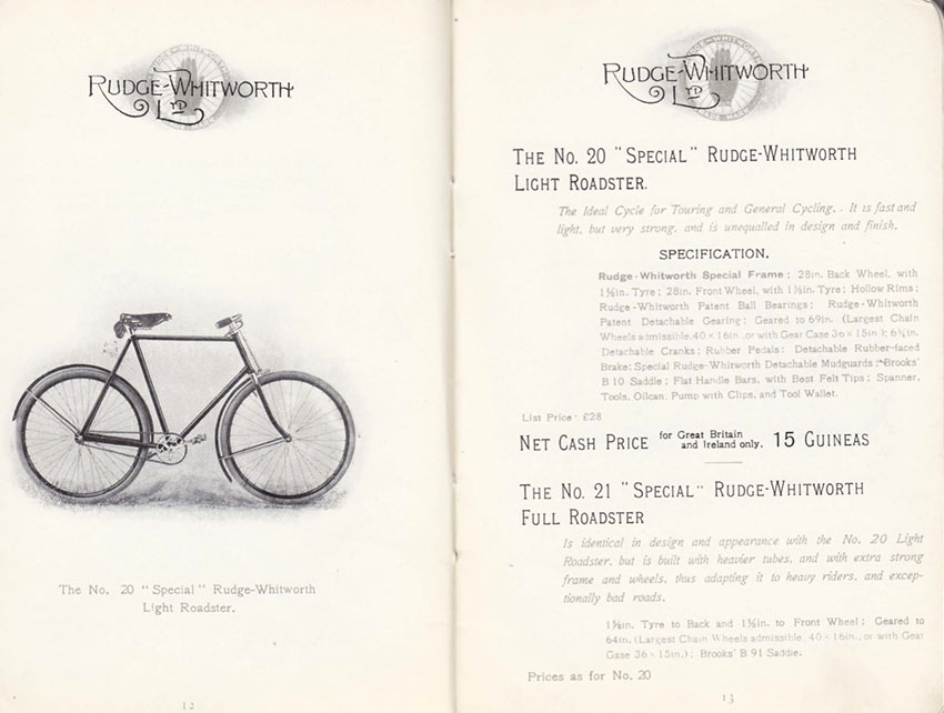 1899 RUDGE WHITWORTH CATALOGUE 3