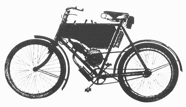 1902 Rudge Wedge motorcycle
