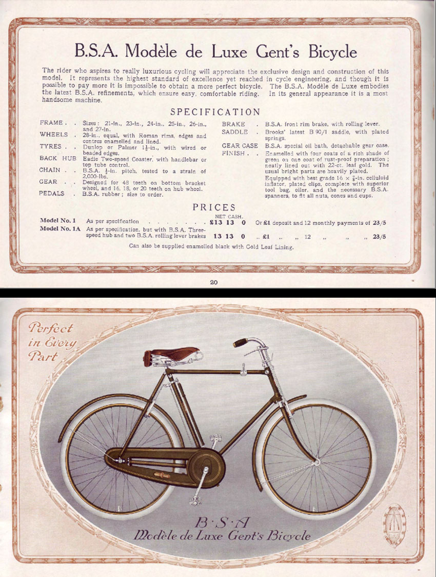 1914 BSA catalogue 1