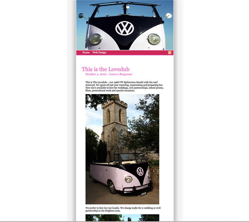 lovedubs website