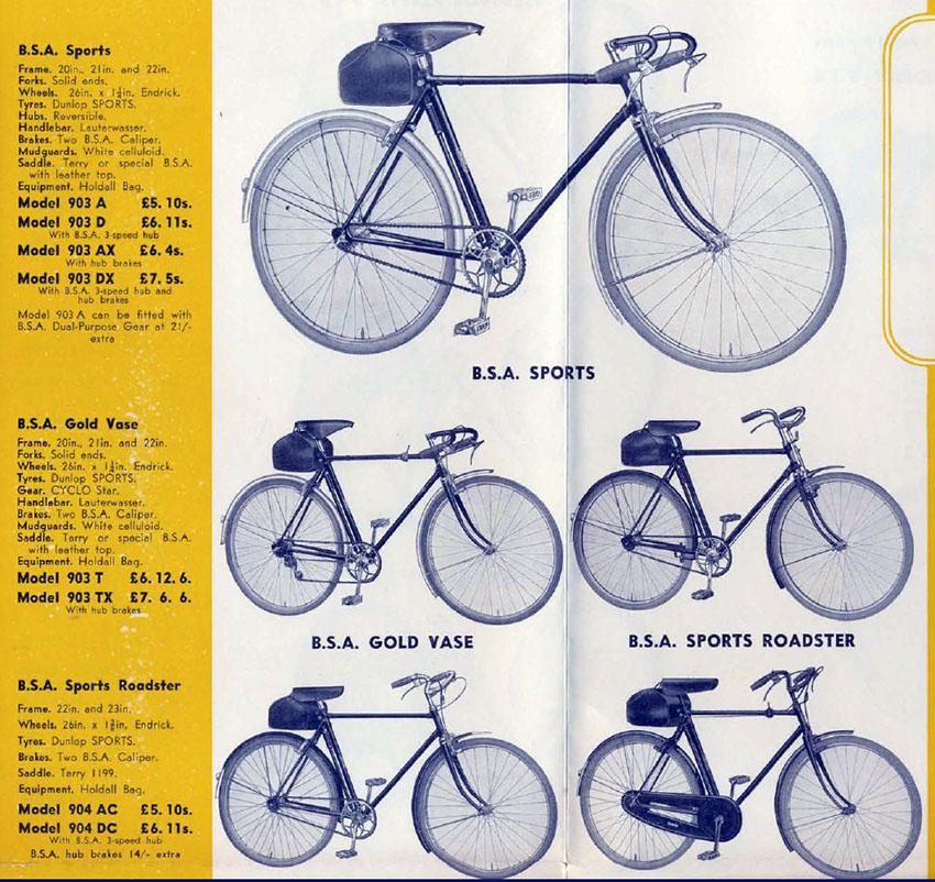 1938 BSA catalogue