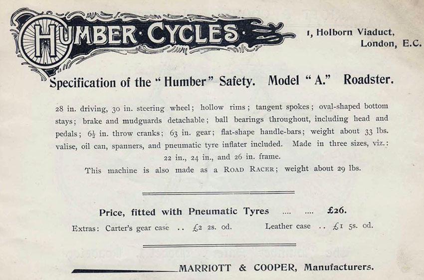 1895 Humber 16