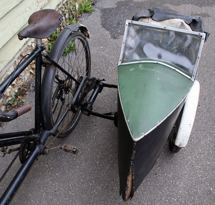 1937 BSA Double Diamond Tandem with Watsonian Sidecar – The Online