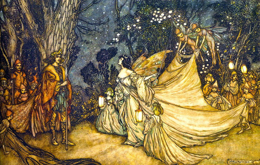 shakespeares-a-midsummers-night-dream-22the-meeting-of-oberon-titania22-arthur-rackham-1905