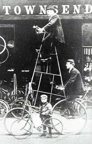 tall bicycle