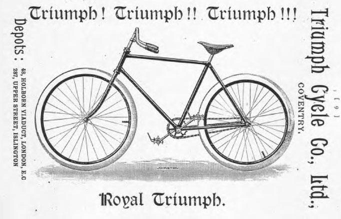 1892 royal triumph ADVERT