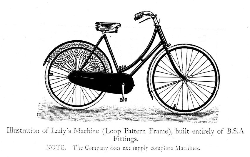 1900 BSA FITTINGS LOOPFRAME