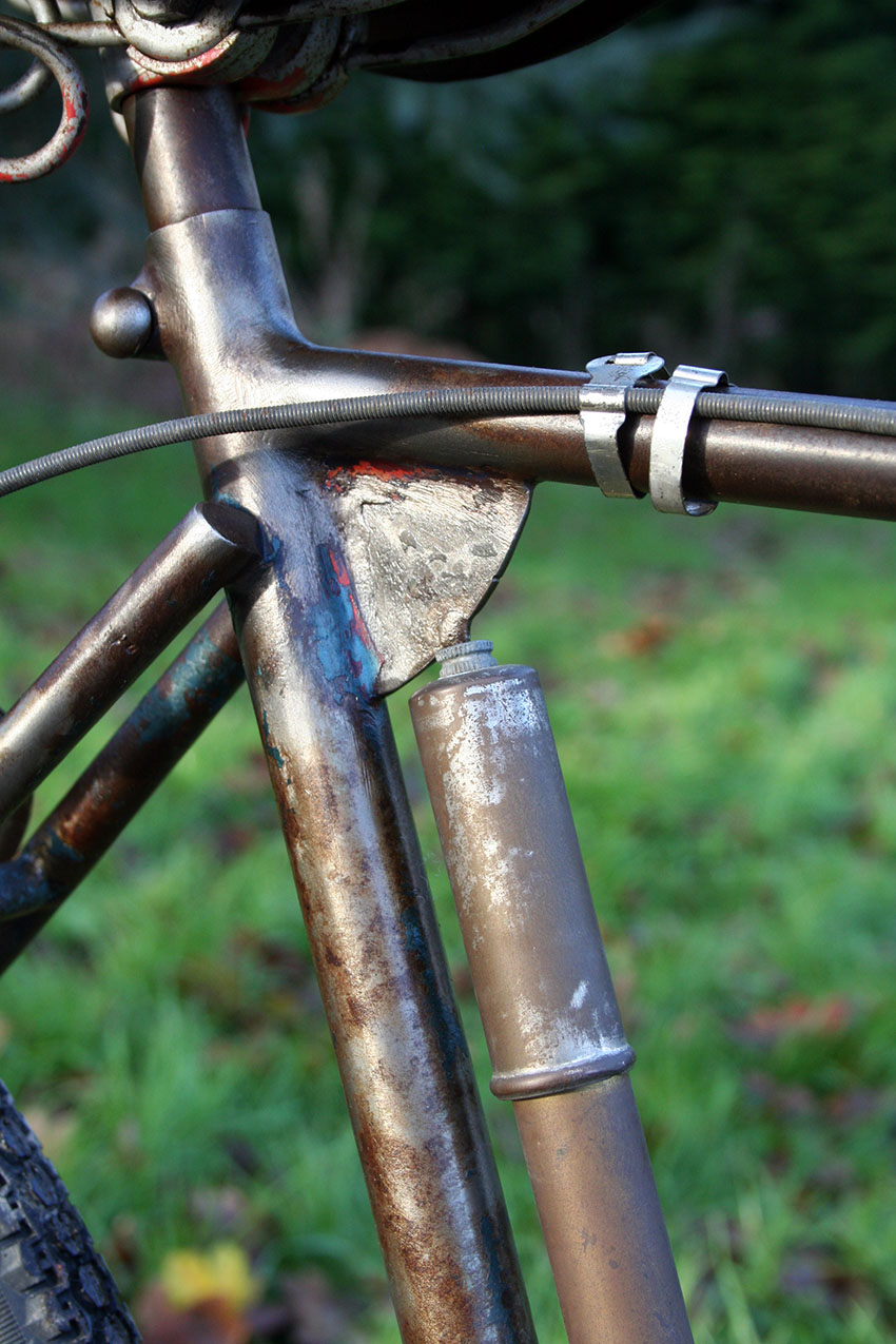 1920s mad cross frame french 7