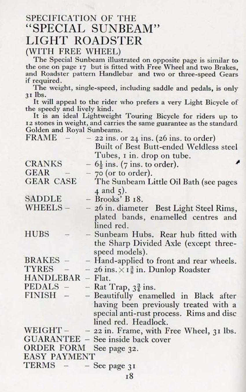 1926 Sunbeam Special