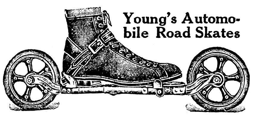 Young's Autombile Road Skates