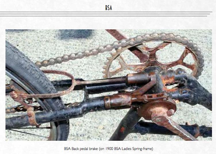 bsa back pedal brake 1899
