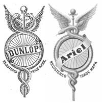 dunlop and ariel cycles