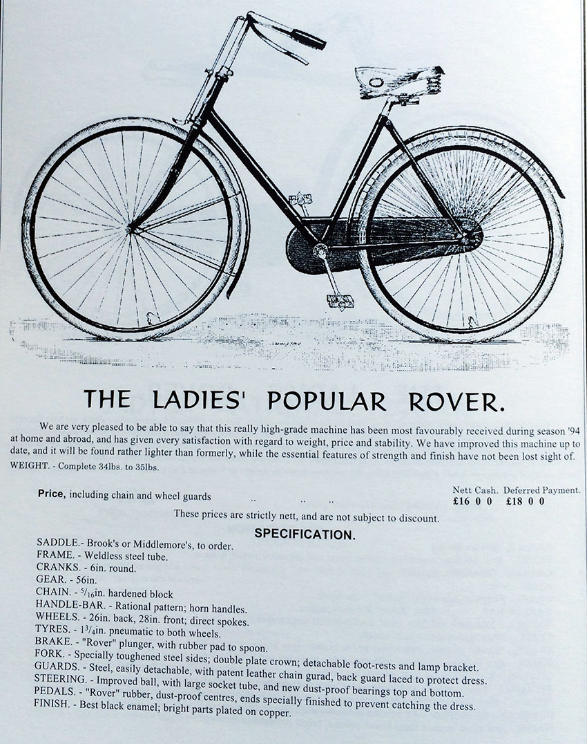 1895 Ladies Popular Rover 1