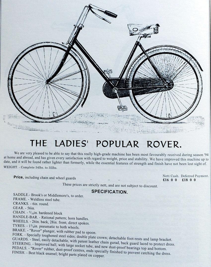 1895 Ladies Popular Rover 1