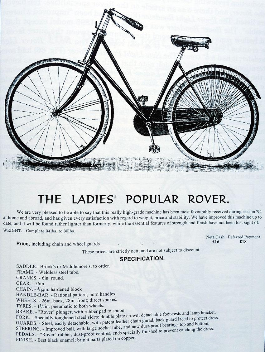 1895 Ladies Popular Rover 2