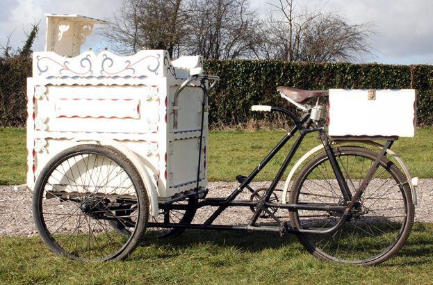 1920s Alldays Ice Cream Tricycle 05