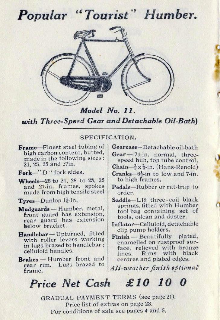 1924 Humber 1
