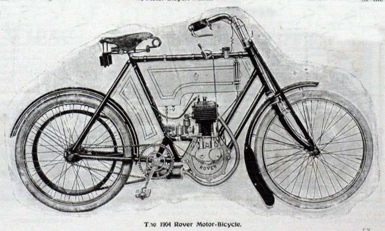 1904_Rover_Motorcycle