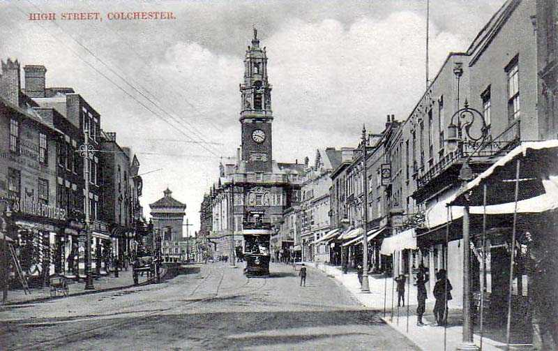 1910s Colchester, High Street